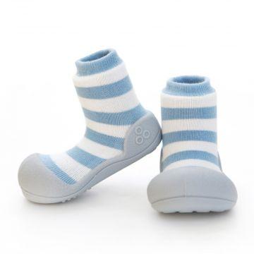 """Batukai kūdikiams Attipas """"Natural Herb"""" mėlynos spalvos"""