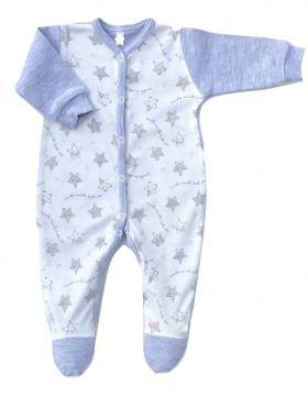 """Šliaužtinukai kūdikiui """"Star"""" pilkos spalvos"""